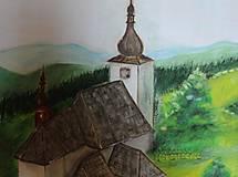 Obrazy - Kostolík - 9833338_
