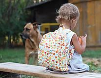 Detské tašky - Detský ruksak abeceda - 9834691_