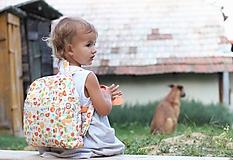 Detské tašky - Detský ruksak abeceda - 9834692_