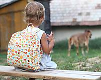 Detské tašky - Detský ruksak abeceda - 9834693_