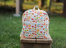 Detské tašky - Detský ruksak abeceda - 9834700_