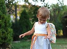 Detské tašky - Detský ruksak abeceda - 9834704_