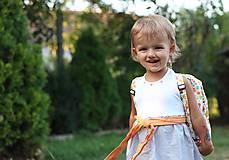 Detské tašky - Detský ruksak abeceda - 9834705_