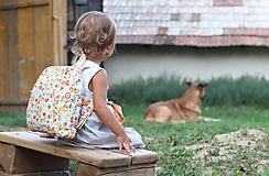 Detské tašky - Detský ruksak abeceda - 9834706_