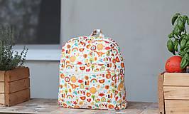 Detské tašky - Detský ruksak abeceda - 9834713_