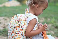Detské tašky - Detský ruksak abeceda - 9834714_