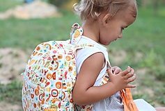 Detský ruksak abeceda