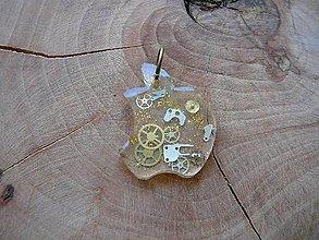 Iné šperky - ... jabĺčko z hodiniek - 9834353_