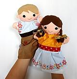 - Maňuška folk dievčinka a mládenec - Ivka a Ferko na želanie - 9835024_