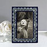Rámiky - Maľovaný rámček - Čipkovaný - 9835344_