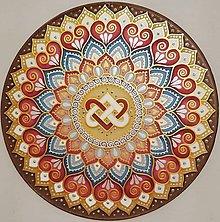 Dekorácie - Mandala...Láskyplný súlad - 9835092_