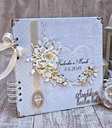 Papiernictvo - Svadobná kniha hostí - 9834766_