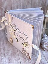 Papiernictvo - Svadobná kniha hostí - 9834778_