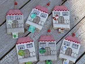 Detské doplnky - Kľúčenka «domček» - 9834949_