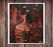 Obrazy - Mrs. Poppy - print - 9833471_
