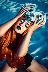 Ozdoby do vlasov - Špeciálna koruna z kolekcie Mermaid dream - 9833421_
