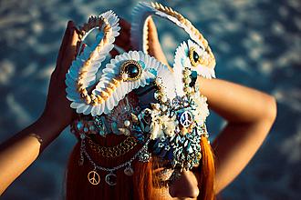 Ozdoby do vlasov - Špeciálna koruna z kolekcie Mermaid dream - 9832411_