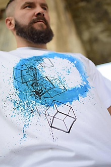 Tričká - Pánske tričko BLUE EYE - 9832861_