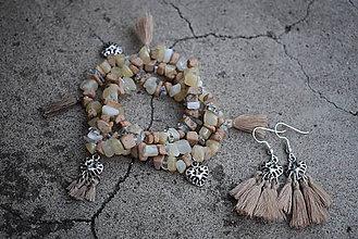 Sady šperkov - Trio náramok a náušnice... - 9834800_