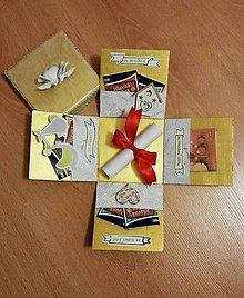 Nezaradené - Svadobná krabička na peniaze a žreby. 1 - 9834036_