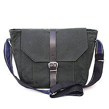 Veľké tašky - Unisex taška BASIC GREEN - 9834185_
