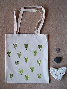 Nákupné tašky - Nákupná taška: Srdiečka - 9832466_