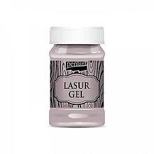 Farby-laky - Lazúrový gél - country ružová, 100ml, ihneď - 9833244_