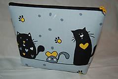 Taštičky - mačičková - 9833519_