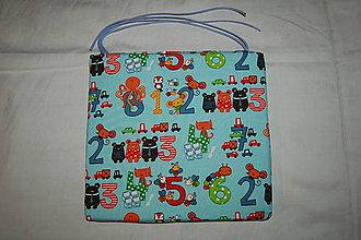 Úžitkový textil - podsedák matematika - 9832636_