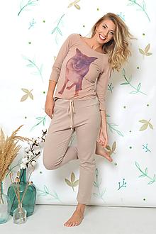 5dd42e0475ff Nohavice - Ležérně elegantní teplákové kalhoty