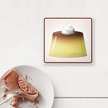 Pomôcky - Podšálka želé(puding) (vanilkové) - 9832484_