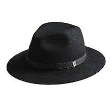 Čiapky - Čierny klobúk Nox Hat - 9835651_