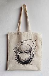 Nákupné tašky - Ekologická plátená taška- Mushroom - 9835739_