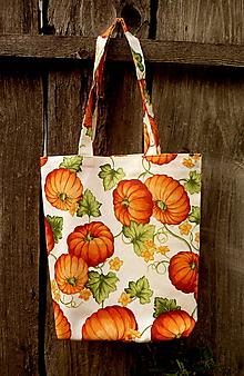 Nákupné tašky - nákupná taška - tekvice - 9837498_