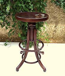 Nábytok - Vysoká barová stolička Thonet - 9837307_