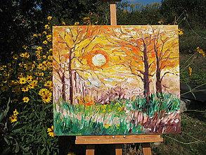 Obrazy - Jesenné slnko - 9836210_
