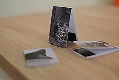 Papiernictvo - Magnetické záložky - Mačacia trilógia - 9836678_