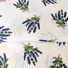 Textil - levanduľa; 100 % bavlna, šírka 140 cm - 9836533_