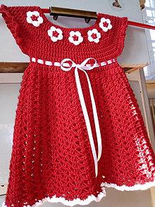 Detské oblečenie - Šaty pre najmenšie princezné Fine - 9836996_