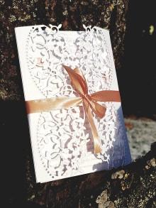Papiernictvo - Svadobné oznámenie Love - 9837390_