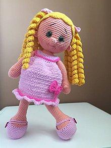 """Hračky - bábika """"slečna"""" Sladká - 9836394_"""
