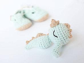 Hračky - morský koník - hrkálka - 9836331_