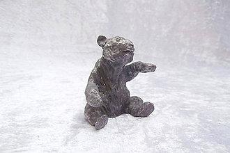 Socha - Cínová soška - medveďa - 9835738_