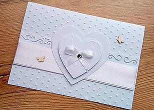 Papiernictvo - svadobné blahoželanie - 9836301_
