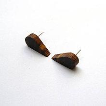 Náušnice - Orechové slzičky - 9837864_