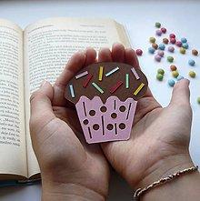 Papiernictvo - Muffinka do knižky... - 9840336_