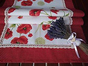 Úžitkový textil - Obrus maky - 9840713_