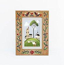 Rámiky - Maľovaný rámček - Fairy tale (10x15 cm) - 9840325_