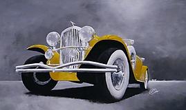 Obrazy - Veterán Duesenberg model J II. - 9841274_