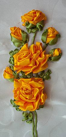 Obrazy - Žlté ruže - 9840353_
